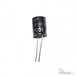Capacitor Eletrolítico 3.3uf x 350V 85º